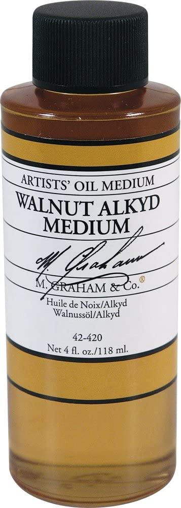 M. NEW before selling Graham Selling 4-Ounce Walnut Medium Alkyd