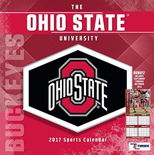 Turner Licensing Sport 2017 Ohio State Buckeyes Mini Wall Calendar (17998040528)