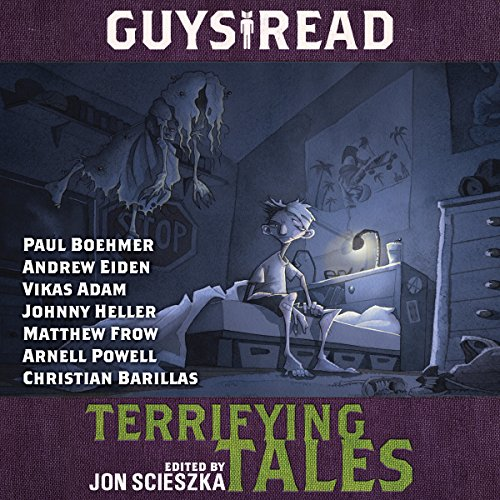 Couverture de Guys Read: Terrifying Tales