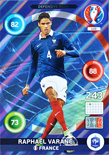 carte PANINI EURO 2016 #133 Raphaël Varane