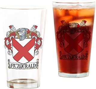 CafePress Fitzgerald Coat Of Arms Pint Glass Pint Glass, 16 oz. Drinking Glass