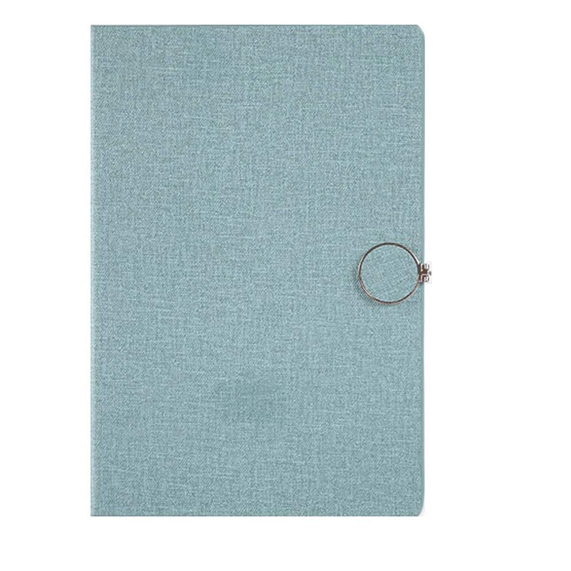 安定した男やもめ拡張ノート ジャーナルA5ノートブック描画デイリーウィークリープランナーアジェンダブック時間管理学用品ギフト メモ帳 (Color : Green)