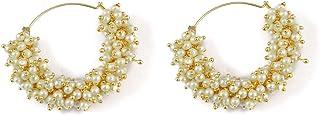 Indian Ethnic Traditional Polki Jhumka/Earring Bollywood Wedding Jewelry for Women