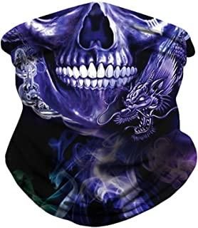 Skull Digital Printing Outdoor Mask Sports Mountaineering Insect-Proof Sunshade Hat Magic Headscarf