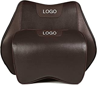 ZHZLNNYY Car seat headrest Neck Pillow Support Lumbar Cushion Lumbar Support,Fit for Lincoln MKT MKS 2010-2013