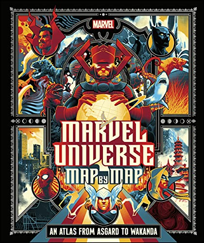 Marvel Universe Map By Map