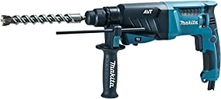 Makita HR2631F/1 110V 26mm SDS-Plus AVT Rotary Hammer Supplied in A Carry Case