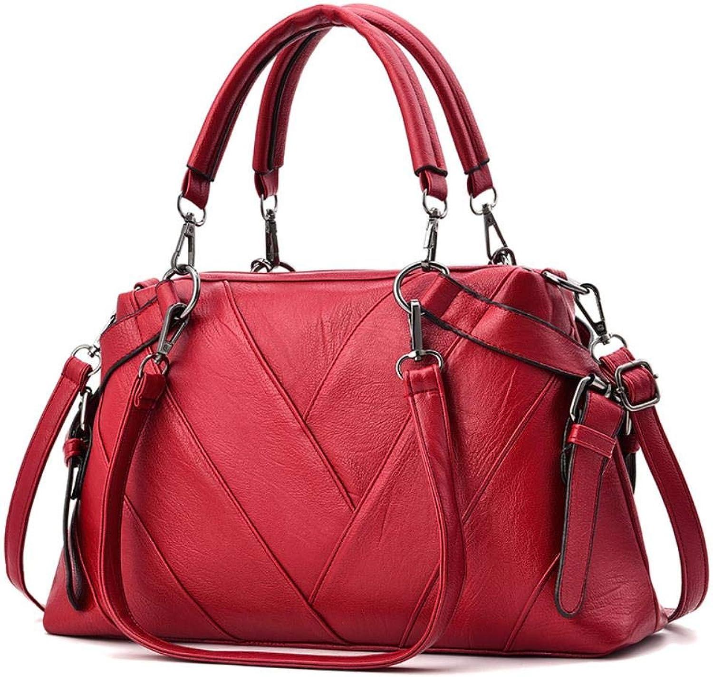 CUUXBO Welle Paket Kuriertasche Damen weiblichen weiblichen weiblichen Beutel Handtaschen für Frauen Handtasche Umhängetasche, B07Q3WT54Q  Trendy 32a101