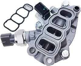 TIKSCIENCE VTEC Solenoid Spool Valve Assembly,Fit for Honda Accord Odyssey Pilot 2005 2006 2007 V6 3.5L 3.0L 15810-RKB-J01 (Kit with Gasket)