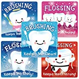 SmileMakers Glitter Teeth Stickers - Prizes and Giveaways - 75 per Pack
