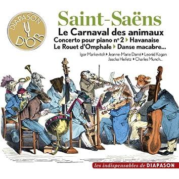 Saint-Saëns: Le Carnaval des animaux, Concerto pour piano No. 2, Havanaise, Le rouet d'Omphale, Danse macabre... (Les indispensables de Diapason)