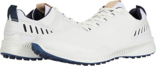 에코 S하이브리드 골프화 ECCO S-Hybrid Hydromax,White Yak Leather