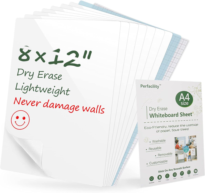 2021 Popular popular Upgraded Perfacility Mini Sticky Erase Dry Under blast sales Boards White