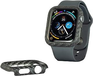 REUTERSON Apple Watch 6 44 mm Carbon Cover I Prawdziwy Carbon I Niezwykle lekki i cienki I doskonała jakość I szlachetne w...