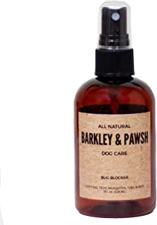 All-Natural Dog Flea, Tick, and Mosquito Spray Repellant for Pets and Puppies 4 fl oz, Cruelty Free, Made in The USA