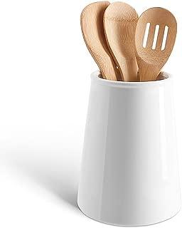 Sweese 801.101 Porcelain Utensil Holder for Kitchen, White