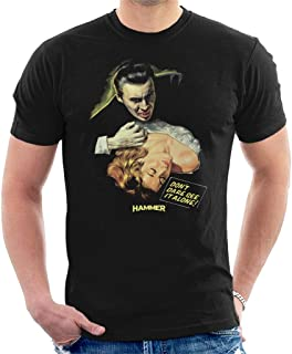 Hammer Dracula Dont Dare See It Alone Poster Men's T-Shirt