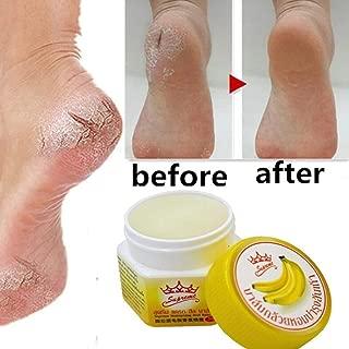Euone Crack Repair Cream, Anti Chapped Anti-Drying Crack Cream Dead Skin Remover Banana Oil Repair