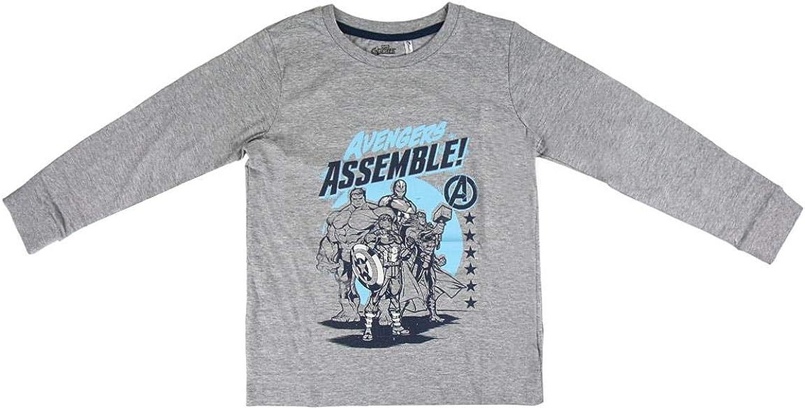 ARTESANIA CERDA Pijama Largo Single Jersey Avengers Pigiama Bambino