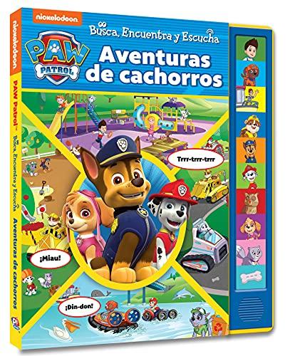 Aventuras De Cachorros. Busca, Encuentra Y Escucha Patrulla Canina (Look Find and Listen)