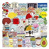 112pcs Fresh Vine Stickers with Trend Funny Humor Words, Vinyl Meme Sticker and Decal Pack for Hydro Flasks Water Bottles Laptop Computer Phones MacBook (Vine Stickers)