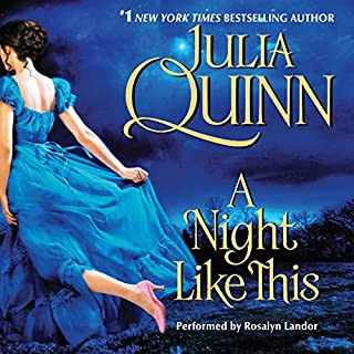 A Night Like This audiobook cover art