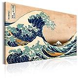 murando - Bilder die große Welle vor Kanagawa 120x80 cm