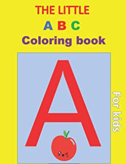 the little coloring ABC book :: dover little activity book