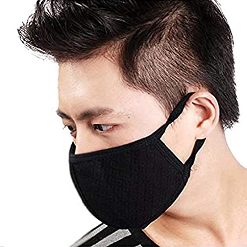 Creative 50pcs/pack Black Non Woven Disposable Face Mask Medical Dental Earloop Activated Carbon Anti-dust Face Surgical Masks Personal Health Care