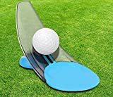 ADVANTAGE-YOU Perfect Putting Trainer Practice Tool - Compact & Foldable - Indoor & Outdoor