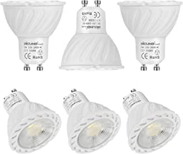 DiCUNO ProOE GU10 LED Bulb, 5W 400LM Spotlight, Daylight White 5000K, Super High CRI>98, AC 100-240V, Equivalent for 50W H...