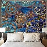 RTNUG tapizTapiz psicodélico para Colgar en la Pared Mandala Arena Toalla de Playa Alfombra Bohemia Manta Almohadilla para Dormir tapices de Pared decoración para el hogar