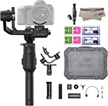 2019 DJI Ronin-S Essentials Kit 3-Axis Gimbal Stabilizer for Mirrorless and DSLR Cameras, Tripod, Gimbal Hook and Loop Strap, 1 Year Limited Warranty, Black(CP.RN.00000033.01)