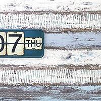 ウッドパネル ウッドタイル 腰壁 粘着式 壁に貼れる木材 ハッティー スクラップブルーウッド 10枚入り Z3K