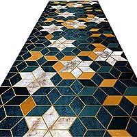 FUSHOU-廊下敷きカーペット、モダンスタイルデザイン廊下玄関フロアカーペット、多機能住宅/オフィス/公共の場所床の装飾廊下用カーペット、洗濯機で洗える変形しない,A,110x200cm