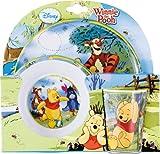 Winnie Pooh 734190 - Set aus Melamin bestehend aus