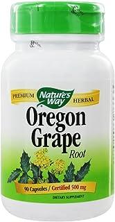 Nature's Way Oregon Grape Root 500 mg-90 Capsules