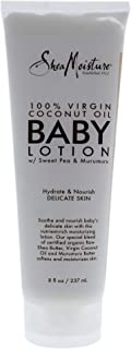 Shea Moisture 100 Percent Virgin Coconut Oil Baby Lotion By Shea Moisture for Kids - 8 Oz Body Lotion, 8 Ounce
