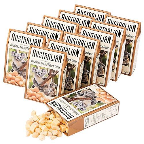 オーストラリア 土産 オーストラリア チーズ&ナッツ 12箱セット (海外旅行 オーストラリア お土産)