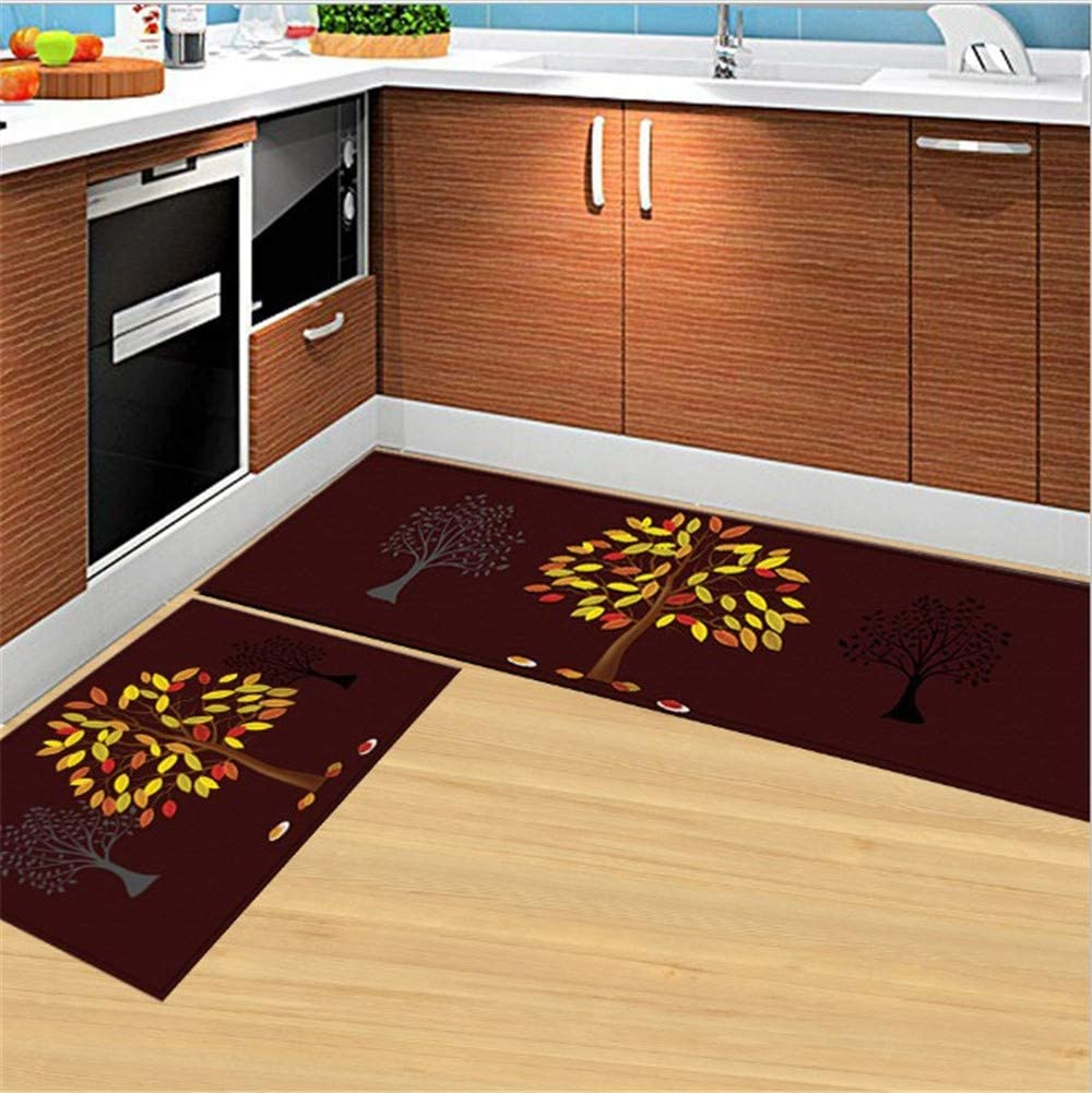 Soft Kitchen Rugs Set of 2 and Piece Manufacturer OFFicial shop Discount mail order Non-Skid Mats
