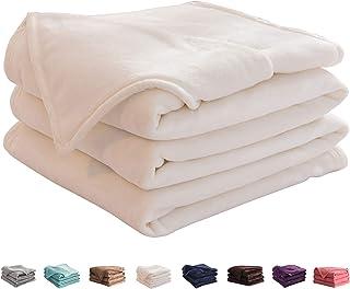 LIANLAM King Size Fleece Blanket Lightweight Super Soft and All Season Warm Fuzzy Plush Cozy Luxury Bed Blankets Microfibe...