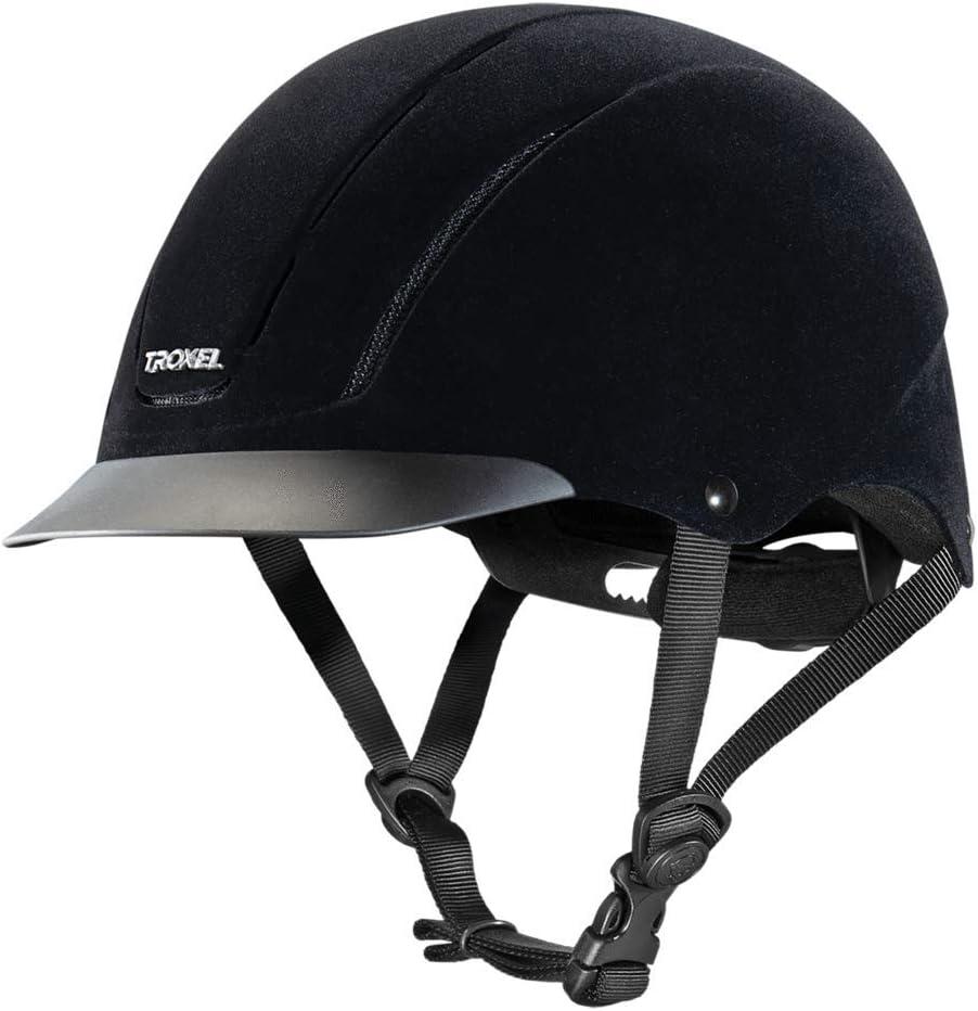 TROXEL Performance Headgear Troxel 2021 new Black Sales of SALE items from new works Velveteen Ridi Capriole