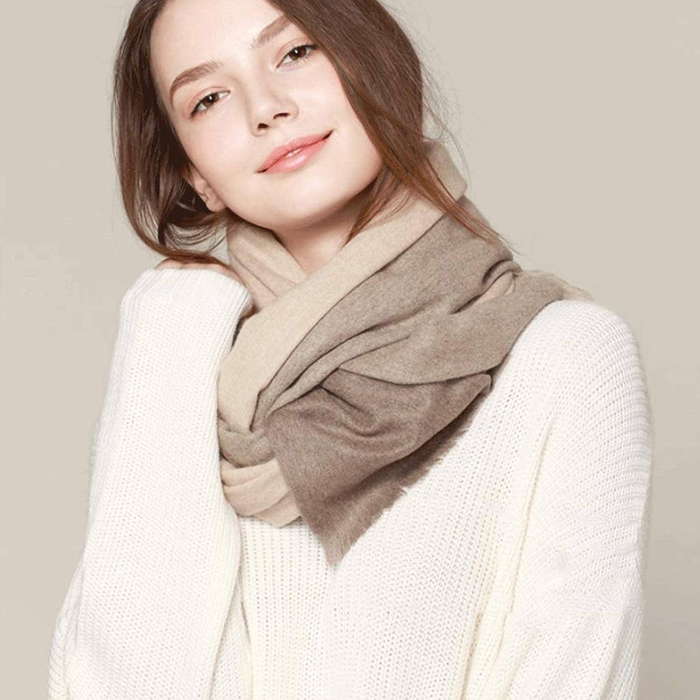 Classic Cashmere Plaid Scarf Winter Fashion Wild Lady Long Wool Shawl (color   B)