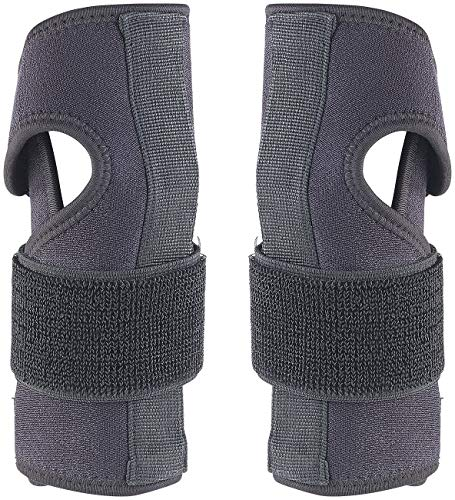 Speeron Handbandage: 2er-Set Handgelenk-Stützbandagen mit Schiene, links & rechts (Sportbandage)