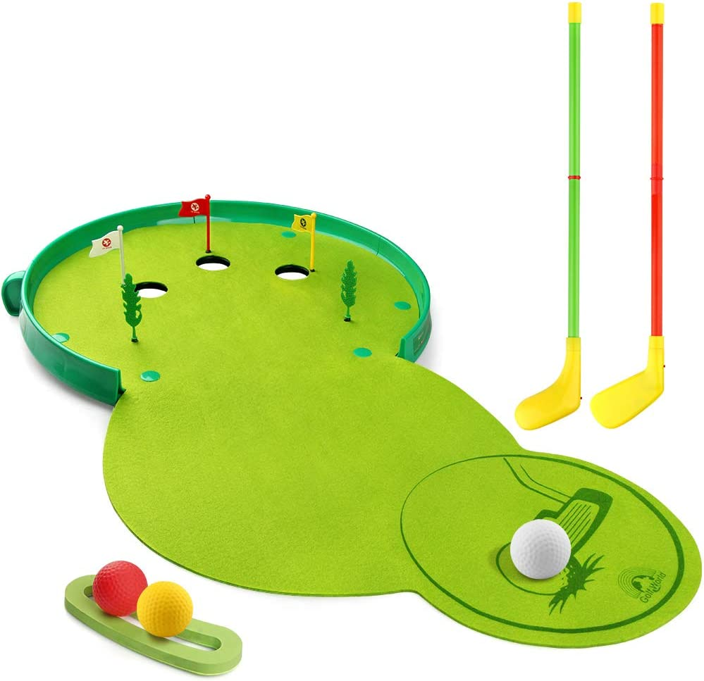 Betheaces Kids Toys Golf Set Xmas and Birthday Gifts for Toddler