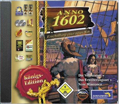 Anno Königsedition. CD-ROM. Erschaffung einer neuen Welt.