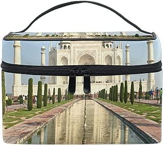 Makeup Bag Cosmetic Storage Bag Landscape Taj Mahal India Portable