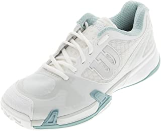 Wilson Women's Rush Pro 2.0 White/Ice Gray/Stillwater Athletic Shoe