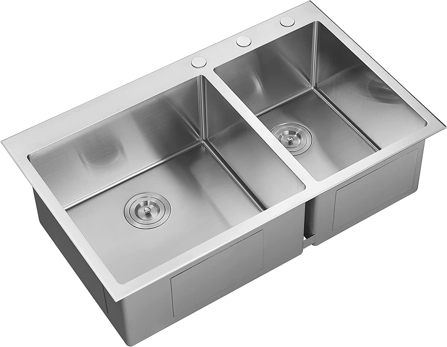 Serene Valley Stainless Steel Limited time San Diego Mall for free shipping Kitchen Sink Deck 36x22-Inch Thick