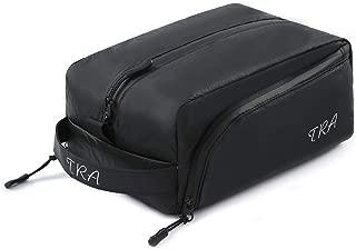 "Toiletry Bag/Toiletry kit/Travel Cosmetic Bag/Dopp Kit/Shaving Kit; Spill-resistant DuPont Tyvek Surface, Waterproof Zip, Leak-proof & Eco Friendly Liner, 10""L x 6.3""W x 4.9""H"